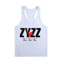 Wholesale Tshirt Vest Men - Wholesale- Wholesale Men Stringer Bodybuilding Tank Tops Clothing Singlets Sleeveless Underwear Muscle Vest Jersey Casual Wear TShirt Men