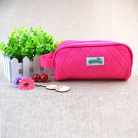 Wholesale Foldable Bags Wholesale - Wholesale- 2017 New Style Women Fashion Polyester Ladies washbag foldable Girls Embroidery Cosmetic Bag maquilhagem Make up case