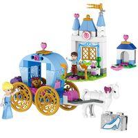 Wholesale Dream Carriage - 2017 37002 friends blocks Elsa princess building blocks Cinderella's Dream Carriage Model Set Gift Toys Compatible 41053