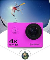sport kamera zoom großhandel-AUTO DVR Notavek96660 Sony179 2.0 '' 30m wasserdichte Action-Kamera 4K Video Kamera Sport DV LCD Outdoor 12MP 60FPS Tauchen optional Paket