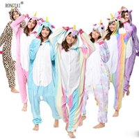Wholesale Xxl Pajamas Men - Animal Stitch Unicorn Panda Bear Koala Pikachu Onesie Adult Unisex Cosplay Costume Pajamas Sleepwear For Men Women