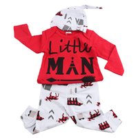 Wholesale Wholesale Boutiques - Ins Hot Christmas Long Sleeve Baby Girl Boutique Clothing Sets Casual Children Tracksuits With Hat For Fall