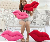 Wholesale Sexy Lips Pillow - Wholesale plush toys sexy lips pillow double - sided lips cushions waist wedding gifts