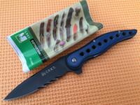 Wholesale Half Serrated Pocket Knife - Hot! OEM CRKT 1163 CRKT1163 McGinnis Premonition Half Serrated Blade Folder EDC Folding Pocket Flipper knife Tactical Knives