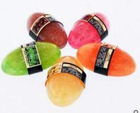 typen kirschen großhandel-Top-Qualität Thailand Luffa Seife 8 Arten haben Rose Lavendel Orange Grüntee Zitrone Kirsche Traubenkaffee Luffa Seife