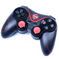 Wholesale pc game pads - Smartphone Game Controller Wireless Bluetooth Phone Gamepad Joystick for Android Phone Pad Android Tablet PC TV BOX phone holder