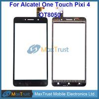 """Wholesale Alcatel Digitizer - Top Quality 6.0"""" For Alcatel One Touch Pixi 4 OT-8050D 8050D OT8050 8050 Touch Screen Digitizer Front Panel Sensor Black White Color"""