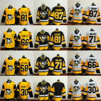 Cheap Pittsburgh Penguins 2017 Stadium Series Jerseys 87 Sidney Crosby 58 Kris Letang 30 Matt Murray 81 Phil Kessel Local Visitante Hockey Jersey