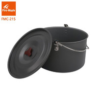 Wholesale Fire Maple - Fire Maple FMC-215 Camping Pots Hanging Pots Picnic Cooker Alumium Cooking Pot 8L for Camping Outdoors Large Pot For 6-8 sets