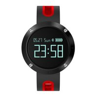 Wholesale 2017 New IP67 DM58 Touch Screen Heart Rate Smart Watch Waterproof Blood Pressure Fitness Tracker Sports Watch for IOS Android