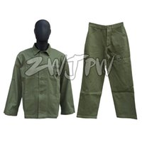 Wholesale Tactical Uniform Pant - WW2 US Army USMC Green HBT Uniform Set Tactical Jacket & Pants