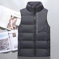Wholesale Down Vest Men - hot sell men's down vest winter vest men's outerwear men warm coat jacket 90% duck down face vest 750