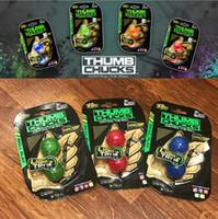 Wholesale Rolling Monkey - Begleri Thumb Chucks Finger Toys Bundle Control Roll Game Yomega Monkey Knuckles Glow in Dark Finger Yoyo Anti Stress Toys CCA6157 100pcs