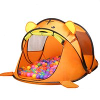 Wholesale Park Tents - Wholesale- Indoor outdoor camping catoon animal tiger dog House tent Ocean ball pool child park picnic holiday game play tent baby toy gift