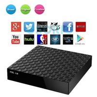 Fabrik Verkauf M9S X9 Android 6.0 Smart TV Box Rockchip RK3229 Quad Core Google Set Top Box voll beladen KD17.3 Google Boxen