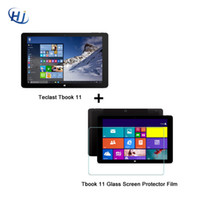 Wholesale 11 Inch Windows Tablet - Wholesale- Teclast Tbook 11 PC Tablets 10.6 inch Windows 10 + Android 5.1 Dual OS 4G RAM 64GB ROM 2 in 1 Ultrabook HDMI Tablet PCs
