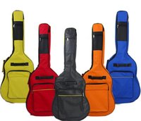 Wholesale Supplied with heavy guitar Oxford bag inch ballad guitar bag backpack cotton Fanta guitar bag
