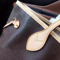 Wholesale real flowers purses online - Orignal real oxidation leather fashion famous shoulder bag handbags presbyopic shopping bag purse messenger bag