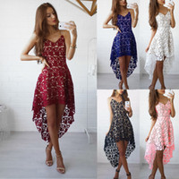 Wholesale Lace Clubbing Dresses - Spring Summer Fashion Mini Club Maxi Dress Long Sleeves Best Sellers Lace Longuette Woman Casual For Women Clothes 2017 Models White Dresses