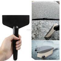 Wholesale Car Snow Brushes Scrapers - 1Pcs Handheld Car Vehicle Snow Ice Scraper Snow Broom Winter Brush Shovel Removal Snow brush Car Styling