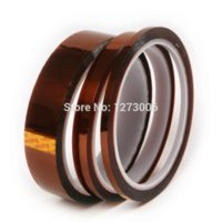 Carbon Fiber Vinyl Film black kapton tape - Durable mm High Temperatur BGA Resistanting Tape Car Home Electric Appliance Anti heat Polyimide Kapton Tape