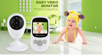 Wholesale Best Color Monitor - Best sell 2.4GHz Wireless Infant Radio Babysitter Digital Video Camera Baby Monitor Audio Night Vision Temperature Display Radio Nanny