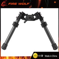 Wholesale Riflescope Tactical - FIRE WOLF NEW LRA Light Tactical Bipod Long Riflescope Bipod For Hunting Rifle Scope Free Shipping
