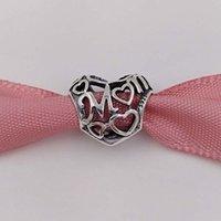 cadeaux pour le jour de l'amour achat en gros de-Cadeau de fête des mères 925 perles en argent Sterling Motherly Love Convient aux Bijoux de Style Pandora de Style Européen Bracelets Collier
