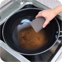 Wholesale Stain Erasers - Nano Magic Melamine Sponge kitchen cleaning Eraser pot cleaner multi-functional Descaling stains sand sponge Household