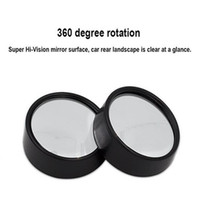 Fits most cars and trucks blind stick - 360 Car Wide Angle Blind Spot Mirror quot Mirror Car Side Mirror Stick On RearView Car SUV Motorcycle Universal Fit