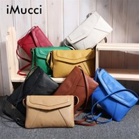 Atacado-Vintage Casual Leather Handbags New Clutches Ladies Party Purse Mulher Bag Rossbody Messenger Shoulder School Pags