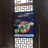 luz del tablero del menú al por mayor-Black Ultra Thin Aluminium Profile LED iluminado Menu Board Light Box para menú de restaurante de comida rápida Mostrar cartel