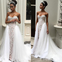 Wholesale short wedding dress sweetheart neckline for sale - Vintage Overskirts Wedding Dresses Sweetheart Neckline Delicate Appliques Wedding Gowns Sweep Length Sleeveless Bridal Gown