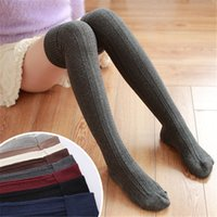 Kukucos Flanging Knee Socks Thick Modelos de otoño e invierno Animación Cosplay Twist High Tube Aocks Japanese College Wind