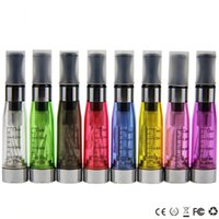 ingrosso kit elettronici per sigarette elettroniche-CE4 Clearomizer ego atomizzatore vaporizzatore 1.6 ml sigarette elettroniche 510 thread CE4 ATOMIZER per ego batteria vision spinner EVOD ego KIT