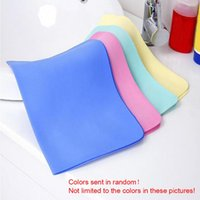 Wholesale Car Wash Wipes - 2 pcs Colorful Magic Car Washing Wipe Towel Cloth Absorber Synthetic Chamois Leather