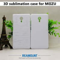 Atacado New Style 3D Sublimation Phone Case para Meilan Note3 3D em branco Soft TPU Cell Phone Case para Meilan M3 M2