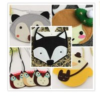 Purse owl cross body bag - Owl Kids Bags Purses for Baby Girl Fox Cat Coin Children Accessories Animal Purses Cartoon Cross Body Coin Kids Purse