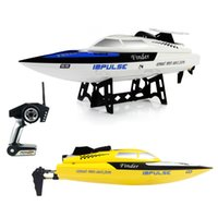 Nuovo arrivo WLtoys WL912 4CH High Speed ​​Racing RC Boat 24km / h RTF 2.4GHz Remote Control Racing Boat per bambini