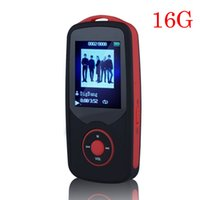 Wholesale reading games - Wholesale- 2017 Original RUIZU X06 Bluetooth Sports MP3 music Player,16G 1.8Inch Screen 100hours high quality lossless Recorder Walkman Red