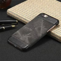 Wholesale Iphone Case Cowboys - For iPhone 6 Case Cover Luxury Cowboy PU Leather Back Cover Case For iPhone 6S 6 Plus 6S Plus 5S Protective Mobile Phone Cases