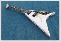Best Selling White Custom Shop Guitarra eléctrica Venta al por mayor Guitarras Top Instrumentos musicales