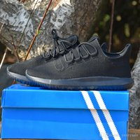 Wholesale Cheap Fashion Flat Boots - 2017 Discount Cheap Tubular Shadow Men & Women Running Shoes Fashion Boost 350 Boots Training Basketball Shoes Size 5-11