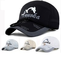 Wholesale Fishing Manufacturers - Sun hat; male and female baseball cap hat with fishing rope sun hat sunscreen cap wholesale fisherman hat manufacturer