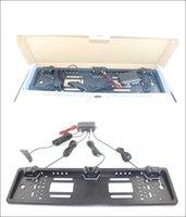 Wholesale 16mm Cameras - Model:OST-303-L European License plate parkings for Optional Colors 4pcs 16mm Popular Car Parking Sensor for LED Display Auto Reverse