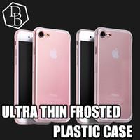 ultra ince s5 kılıf toptan satış-Iphone 5 için ince mat durumda iphone 6 artı durumlarda ultra ince tpu yumuşak mat şeffaf jel kapak kılıfları iphone 5 galaxy s5 s6 not 4 htc m9