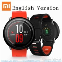 Xiaomi AMAZFIT Smart Watch для Android Bluetooth 4.0 WiFi Dual Core 1.2GHz 512MB 4GB GPS монитор сердечного ритма GPS SmartWatch Huami Hot + NB