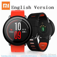 Xiaomi AMAZFIT Smart Watch für android Bluetooth 4.0 WiFi Dual Core 1,2 GHz 512 MB 4 GB GPS Pulsmesser GPS SmartWatch Huami Hot + NB