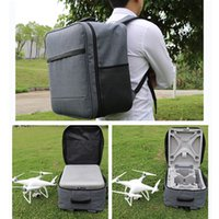 Wholesale Canvas Backpack For Fashion - Wholesale- Hot Sell 1Pc Backpack Shoulder Bag Carrying Case For DJI Phantom 4 Phantom 3 Quadcopter Drone