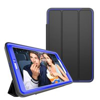 """Wholesale Galaxy Tablet Waterproof Case - New Business tablet PC protective for 9.6"""" Samsung galaxy Tab E T560 T561 mount desk stand holder smart case cover skin"""